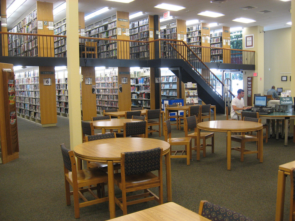 Rockville Centre NY Library by sphoto33, on Flickr