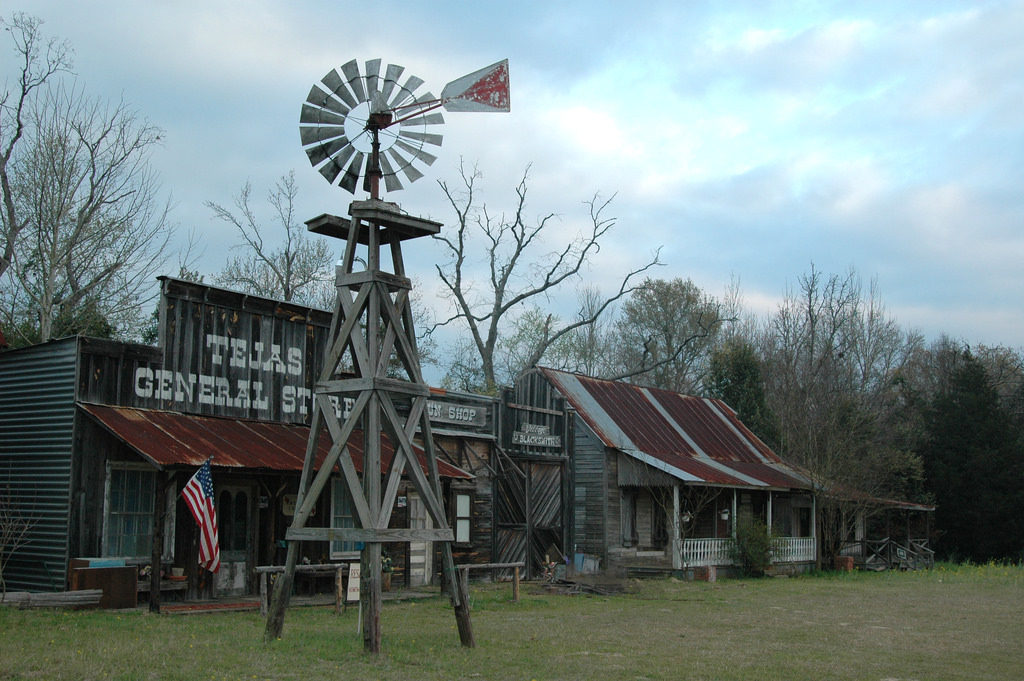 fake ghost town - east texas by M&R Glasgow, on Flickr
