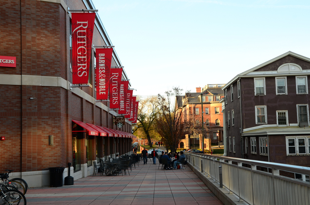 The New Rutgers Bookstore, With Connecti by slgckgc, on Flickr