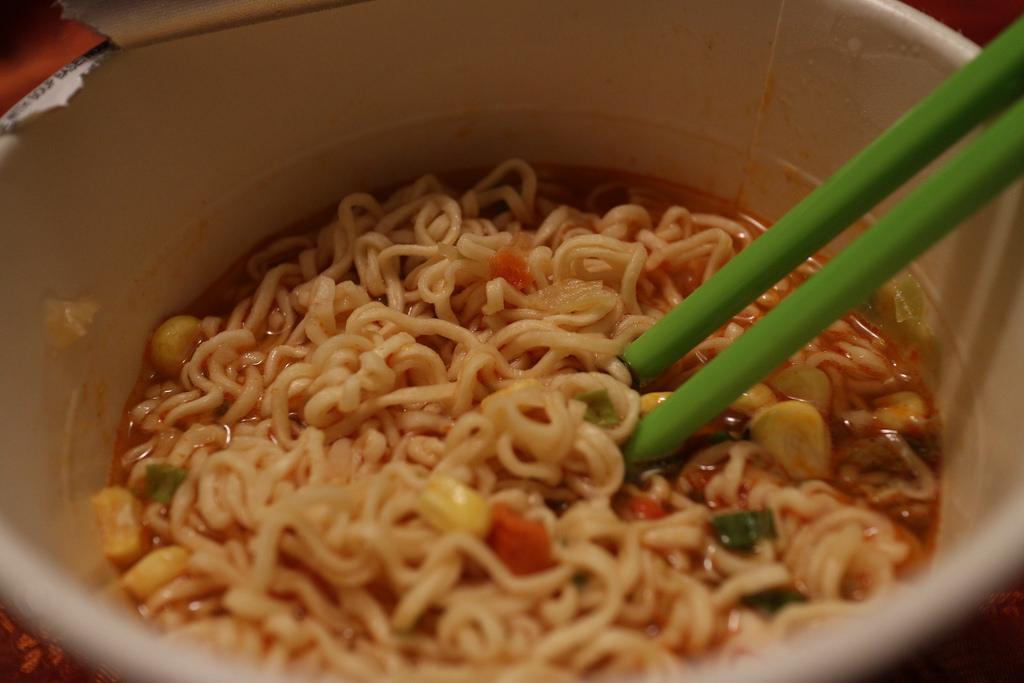 252-365 Kimchi Instant Noodles by elsie.hui, on Flickr