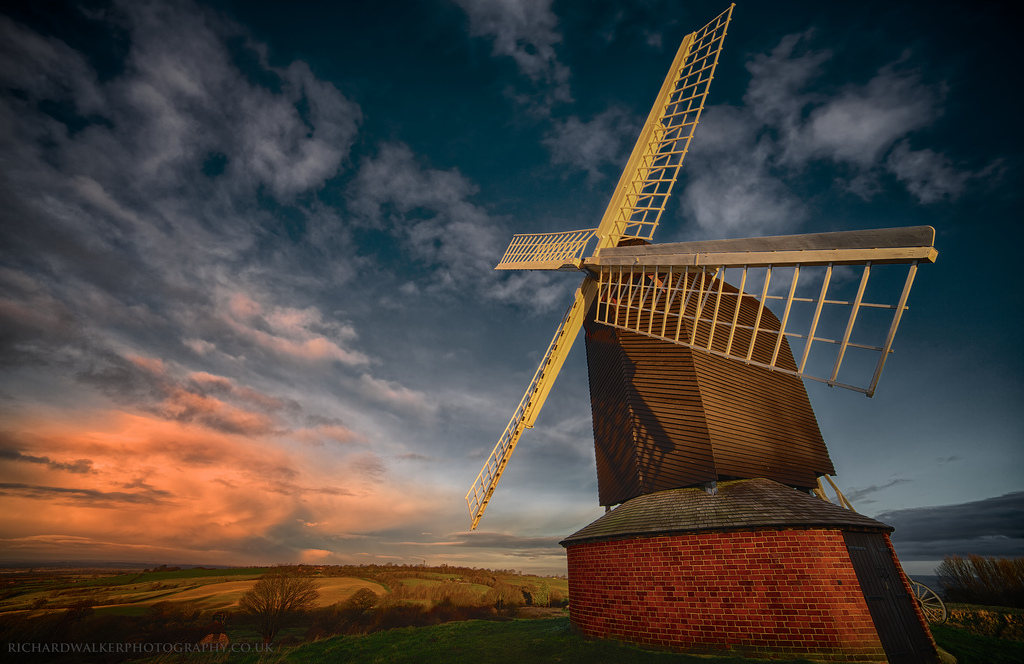 Brill Windmill Sunrise by Richard Walker Photography, on Flickr