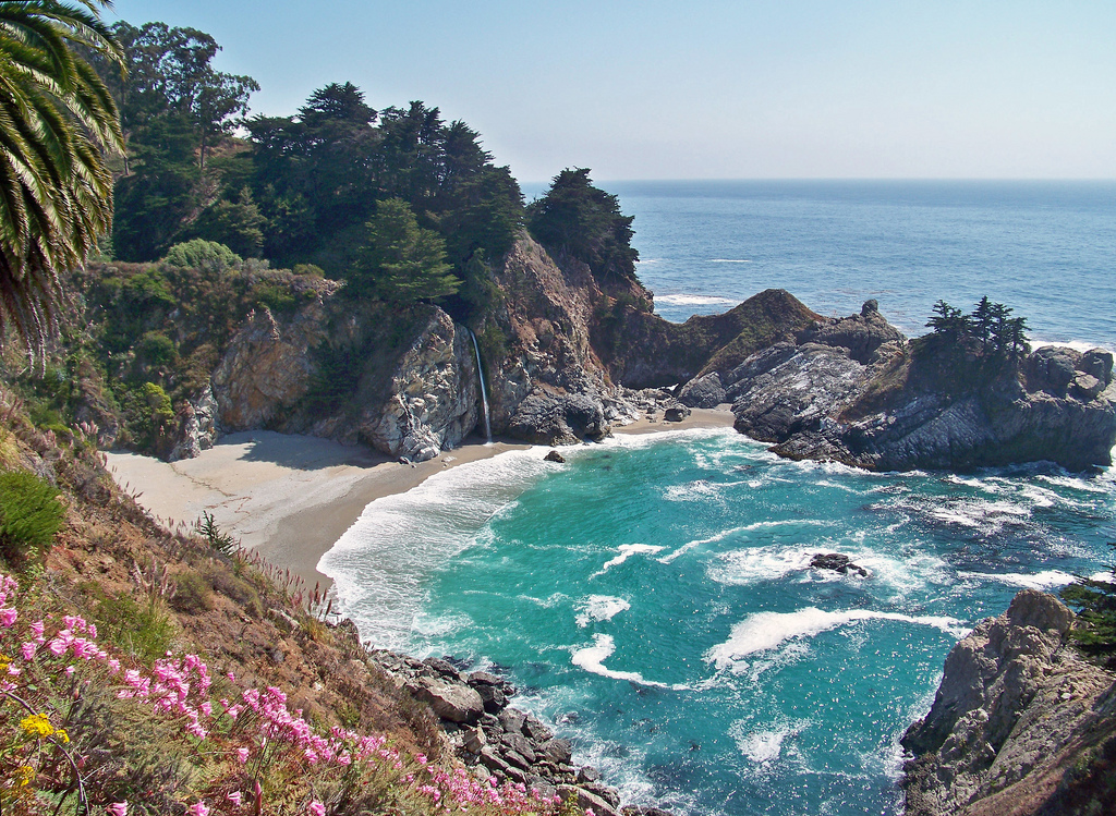 McWay Falls, Big Sur, CA by inkknife_2000 (8 million views +), on Flickr