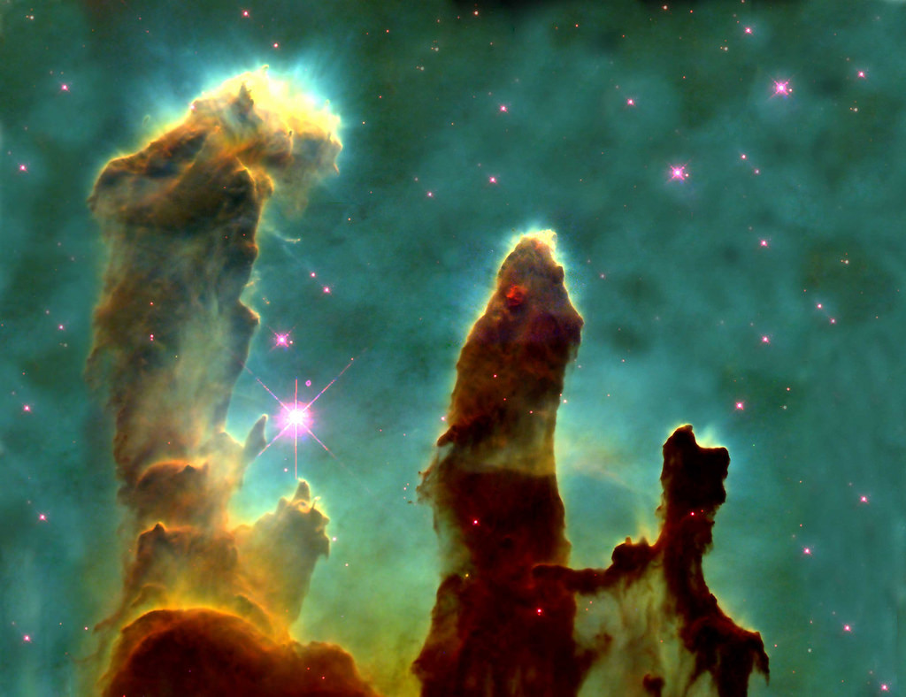 Pillars of Creation – Stars Forming in by Blatant Views, on Flickr