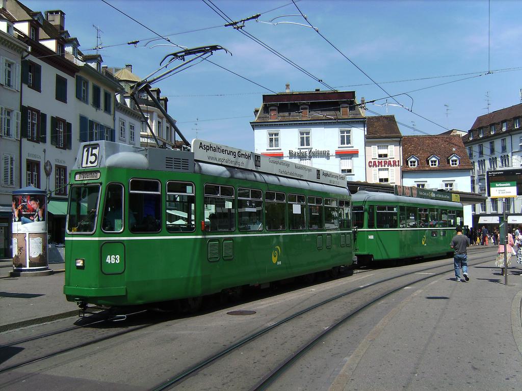 Basel tram by vitalyzator, on Flickr