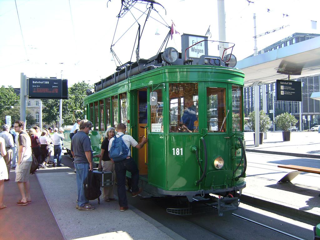 Basel historical tram by vitalyzator, on Flickr