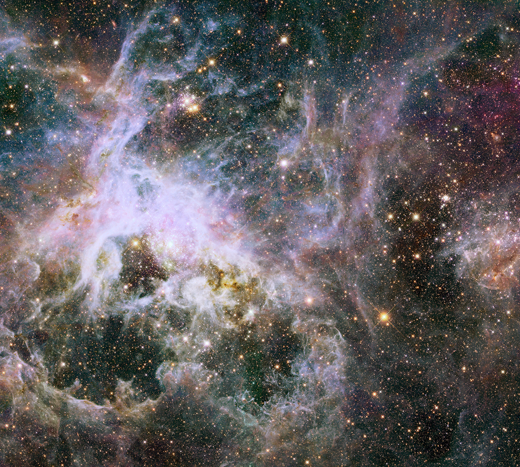 New Hubble infrared view of the Tarantul by Hubble Space Telescope / ESA, on Flickr