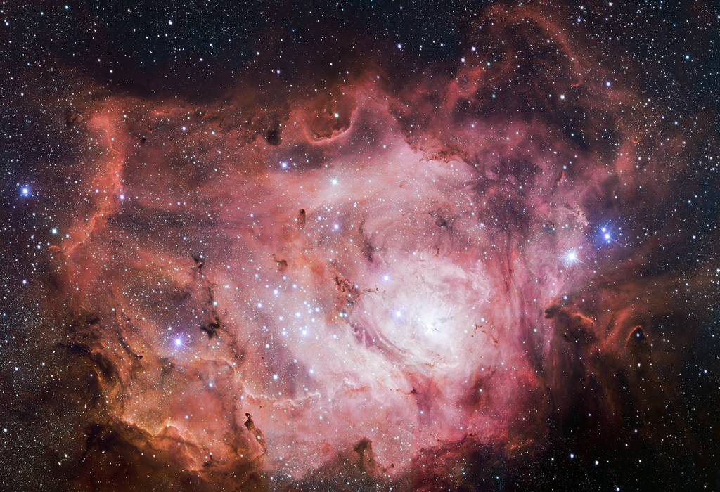 VST images the Lagoon Nebula by European Southern Observatory, on Flickr
