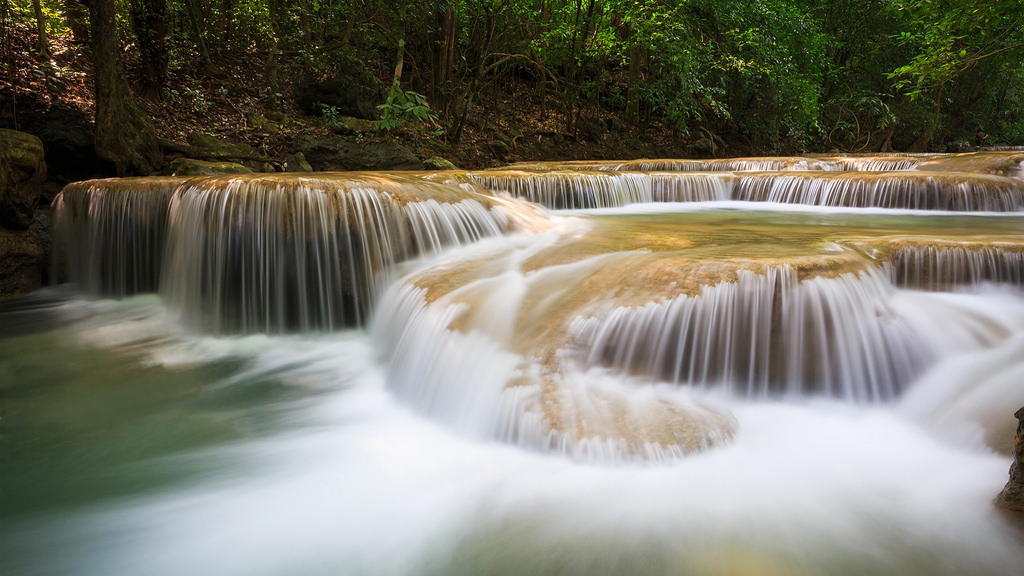 Best Waterfall Nature Wallpaper for Dest by jin.3444, on Flickr