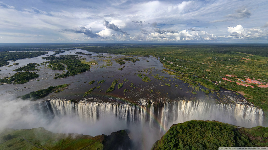 Widest Water fall in world - Most Beauti by jin.3444, on Flickr