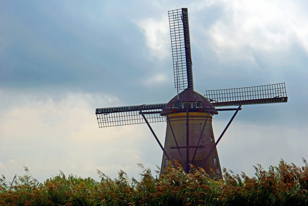 Netherlands-4736 - Nederwaard Windmill by archer10 (Dennis) 98M Views, on Flickr