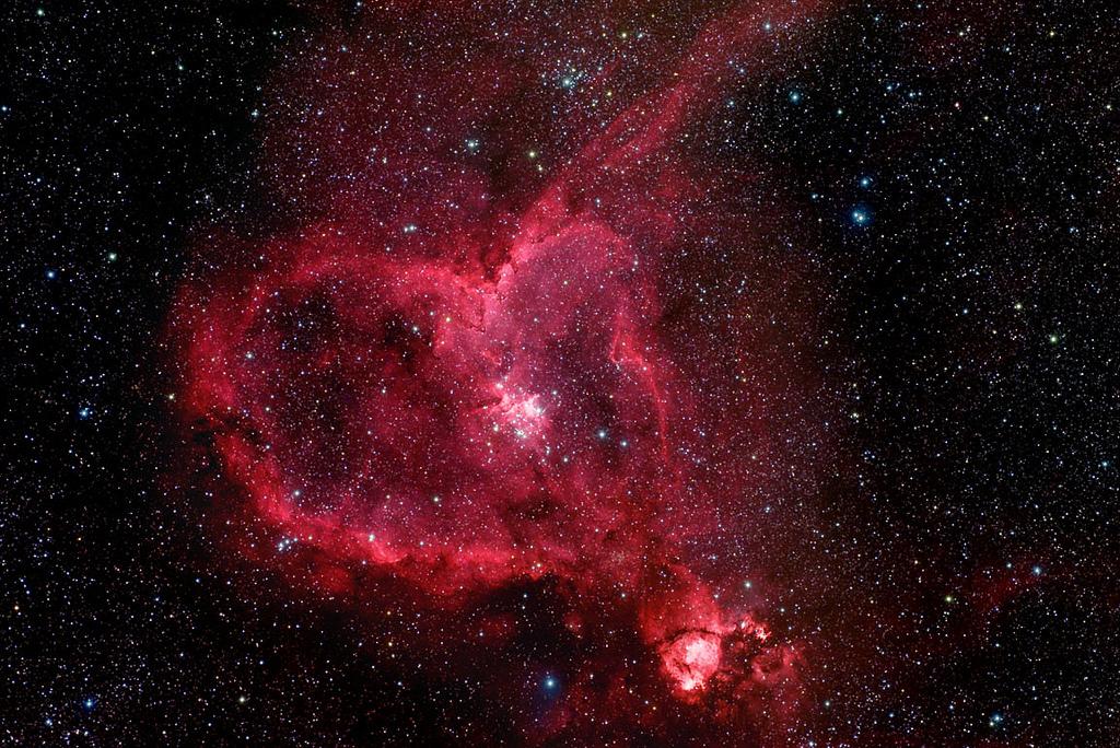 Heart Nebula by NASAblueshift, on Flickr