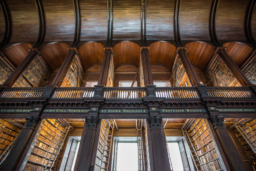 Trinity College Old Library 'Long Room by Tony Webster, on Flickr