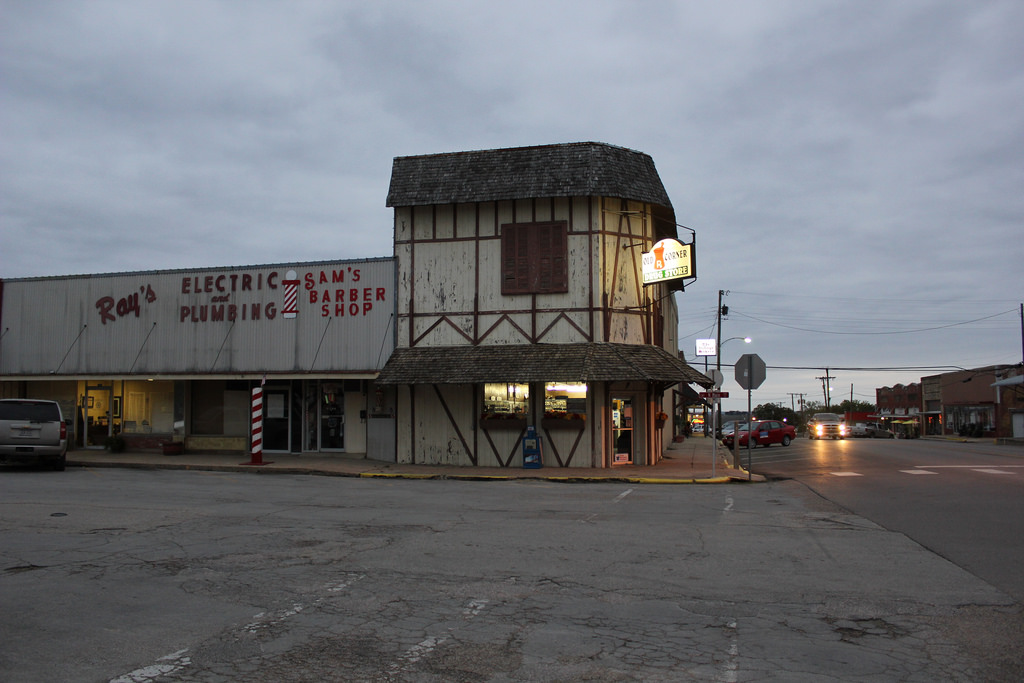Old Corner Drug Store, West, Texas by TexasExplorer98, on Flickr