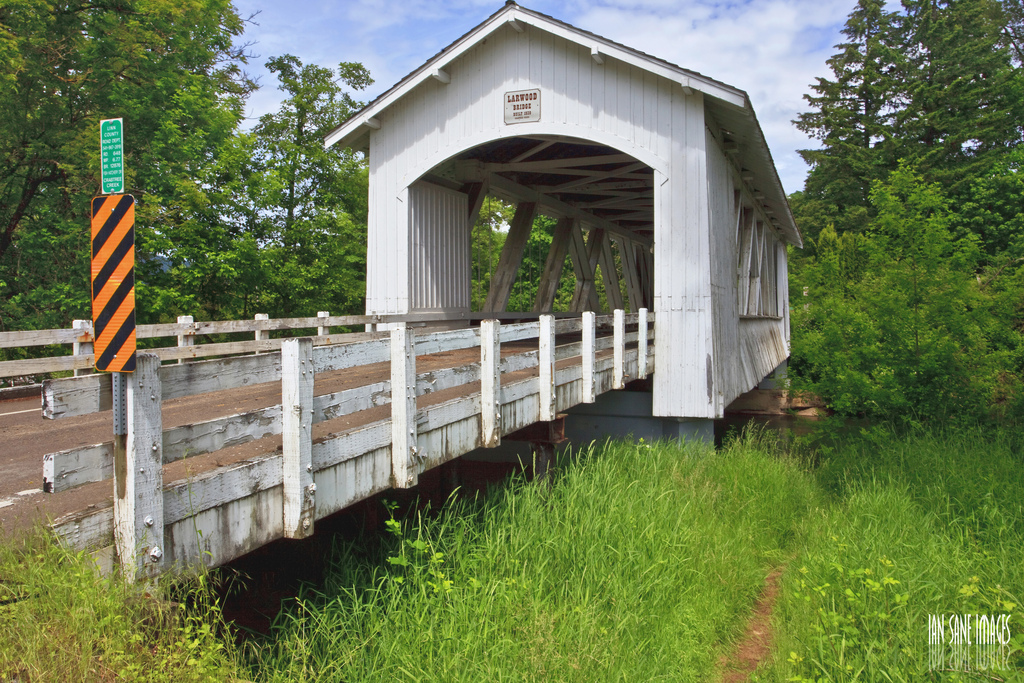 Larwood Covered Bridge by Ian Sane, on Flickr