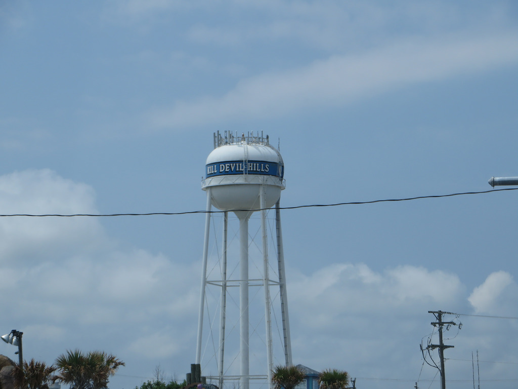 Water Tower, Kill Devil Hills, Outer Ban by Ken Lund, on Flickr