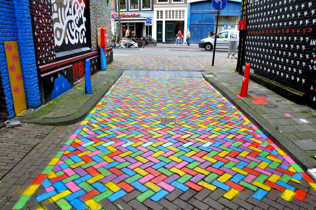 Mural Wijdesteeg Amsterdam by FaceMePLS, on Flickr