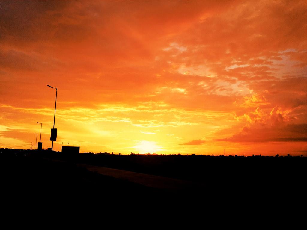 Sunset @ Hermosillo, México. by kirrinuchis, on Flickr