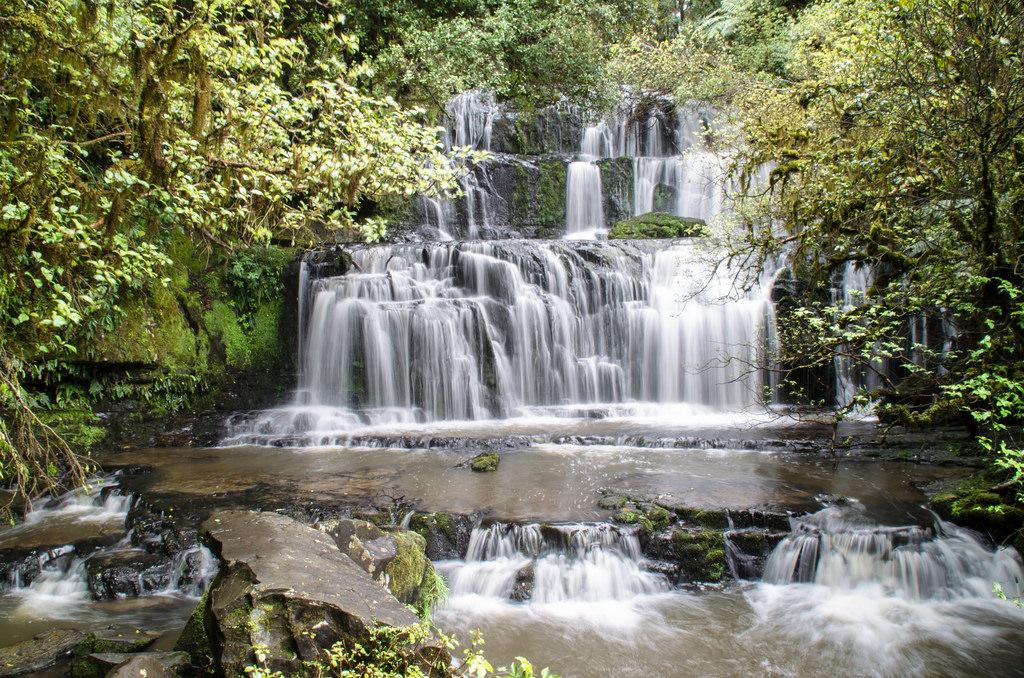 waterfall by Kiwi Tom, on Flickr