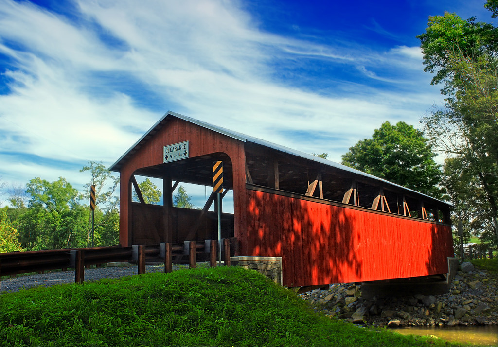 Frazier Covered Bridge (1) by Nicholas_T, on Flickr