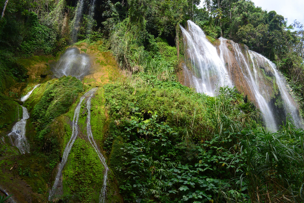 Waterfall in Topes de Collantes by utcursch, on Flickr