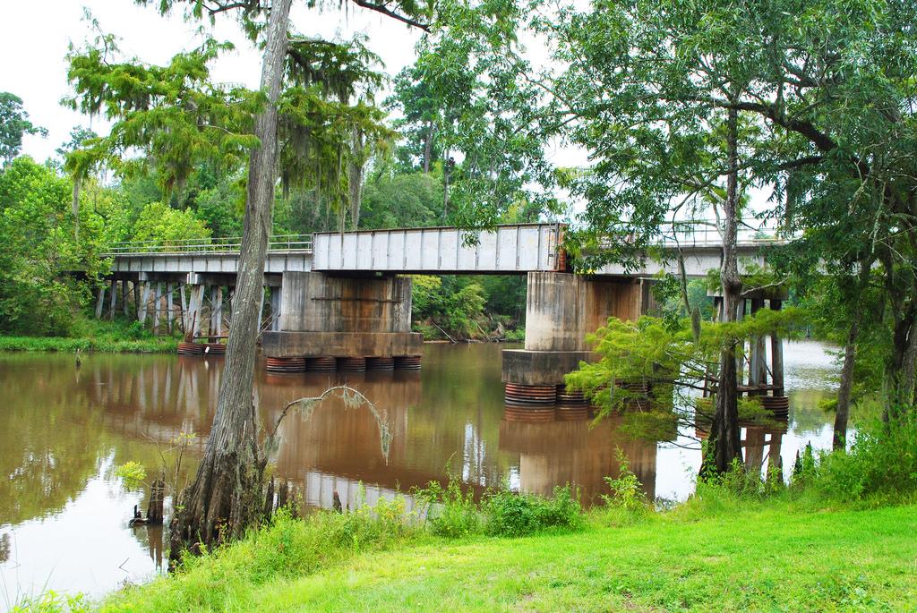 TimberRock Railroad Bridge over Pine Isl by Patrick Feller, on Flickr