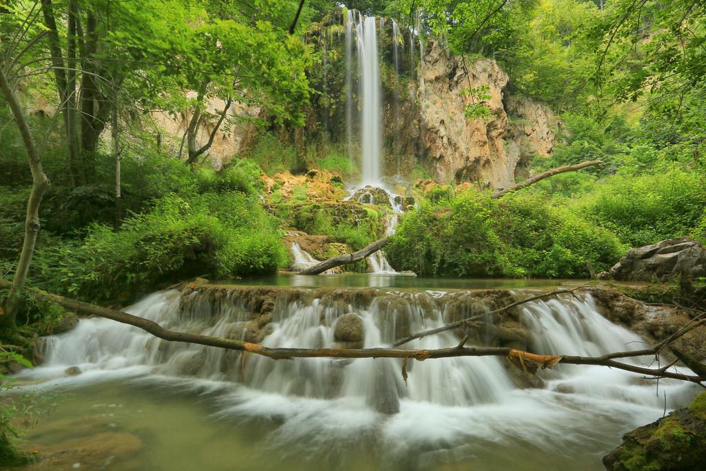 Falling Spring Falls, VA by U.S. Geological Survey, on Flickr