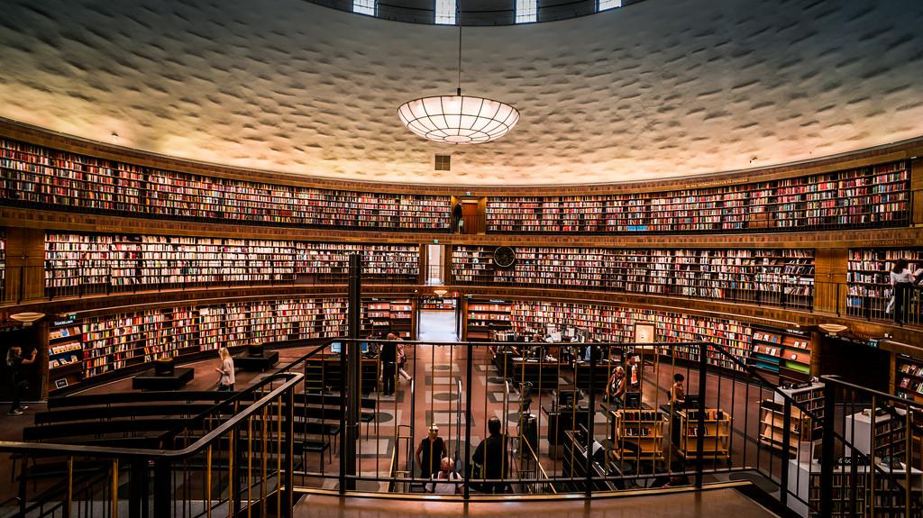 Stockholms Stadsbibliotek (Stockholm Pub by chibicode, on Flickr