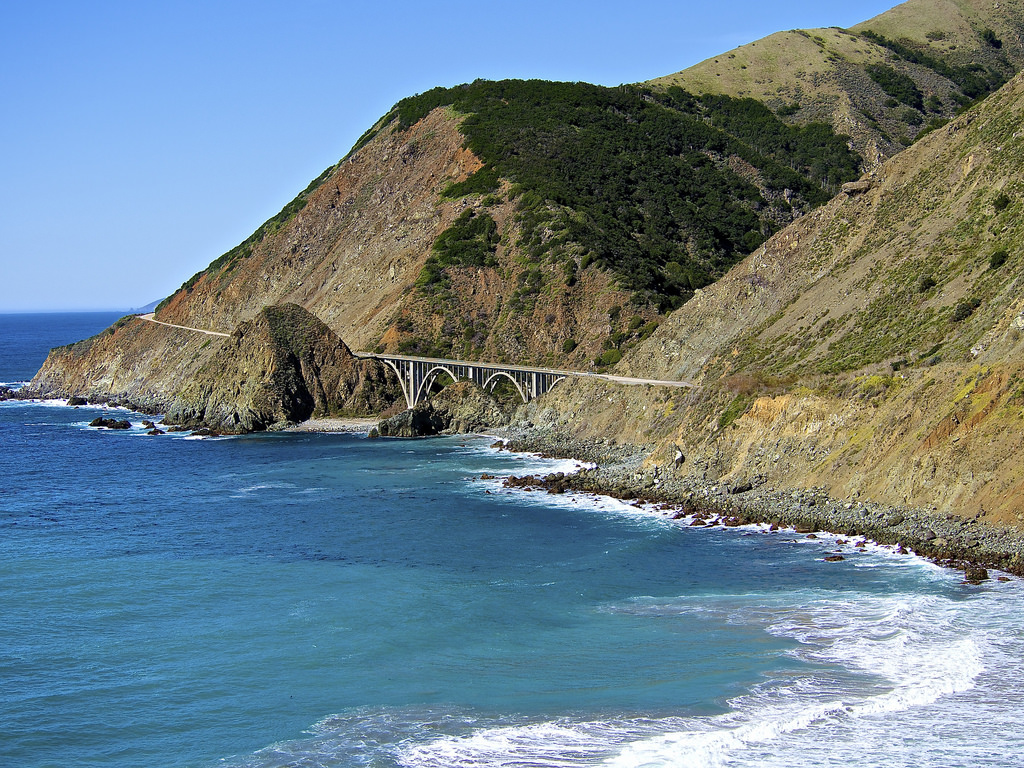 Highway 1 Wraps Around the Central Calif by Les_Williams, on Flickr