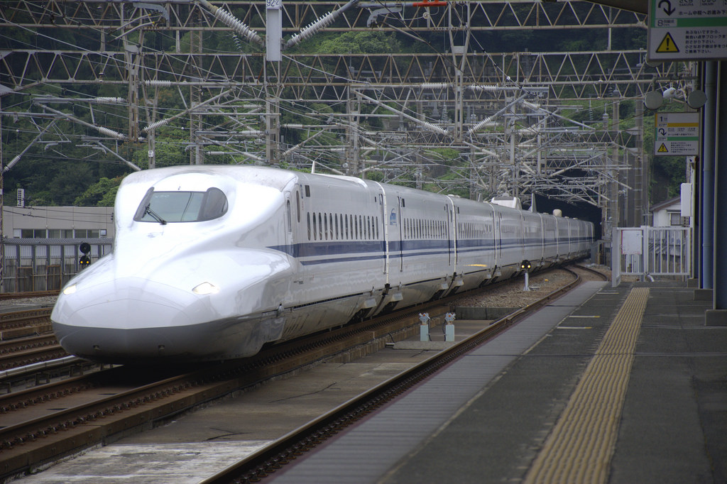 N700系X50編成、新下関にて by rail02000, on Flickr