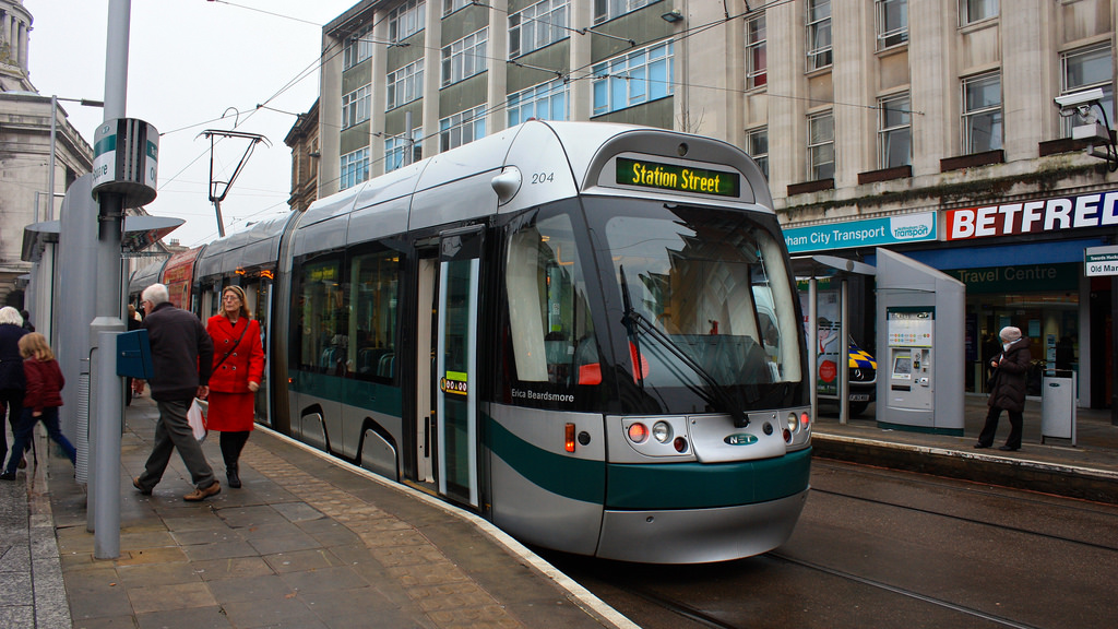 Bombardier Incentro AT6/5 tram in Nottin by Neil T, on Flickr