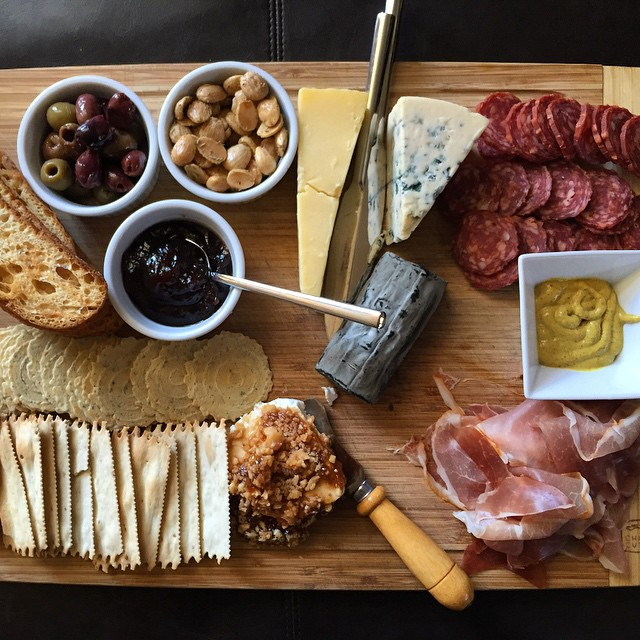 Our cheese plate kicks your cheese plate by Alyssa & Colin, on Flickr