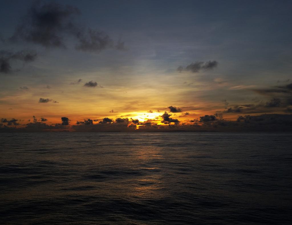 Pacific Ocean Sunrise by Jonathan Miske, on Flickr
