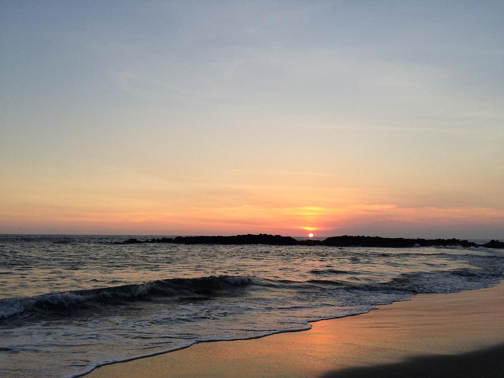 Sunset at Playa Transito by cjmartin, on Flickr