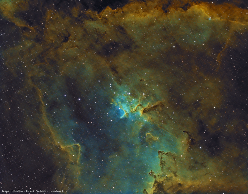 Heart Nebula by Jaspal Chadha - London Based Astrophotography, on Flickr