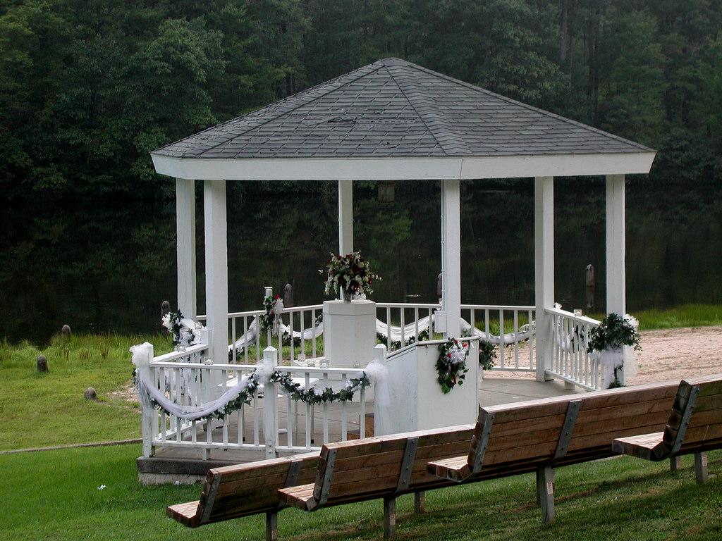 Wedding Gazebo at Twin Lakes State Park by vastateparksstaff, on Flickr
