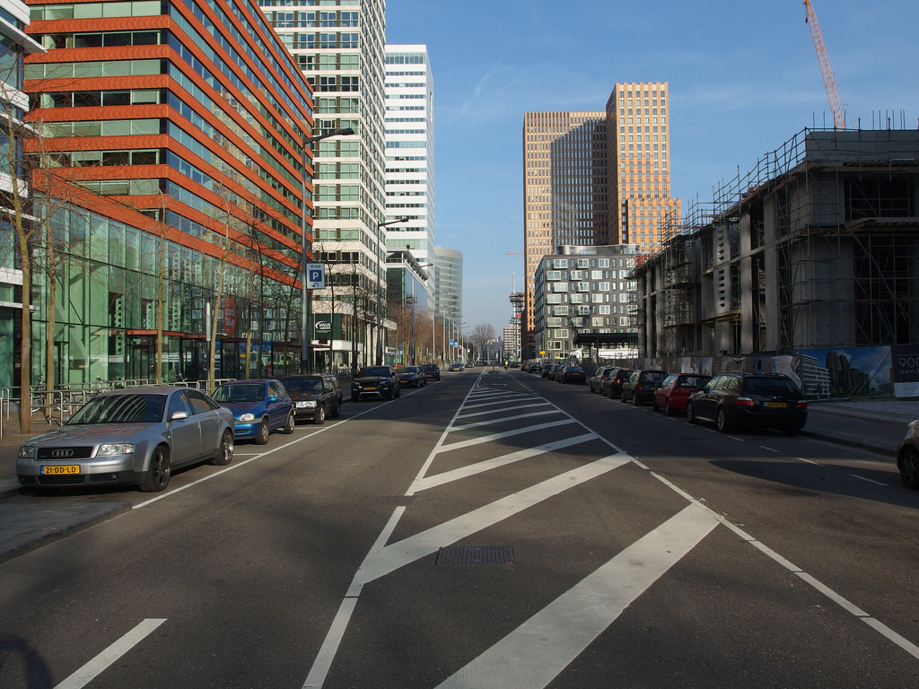 Zuidas Business District @ Amsterdam by *_*, on Flickr