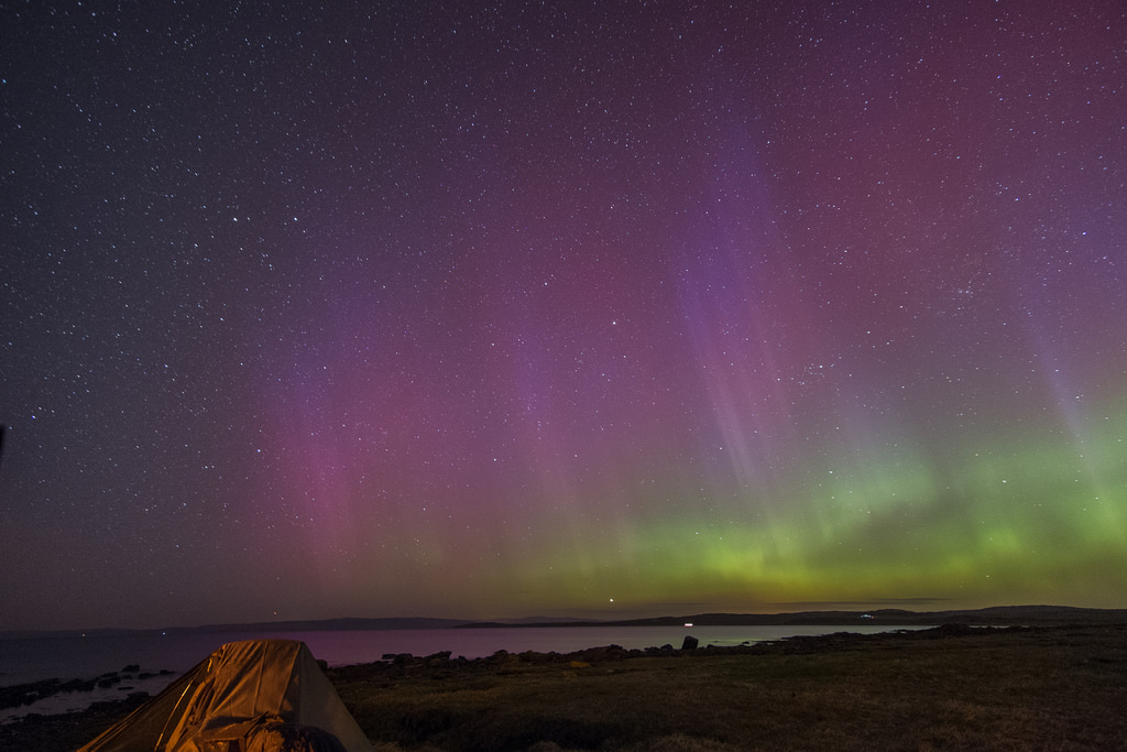 Aurora over Bute by Strength, on Flickr