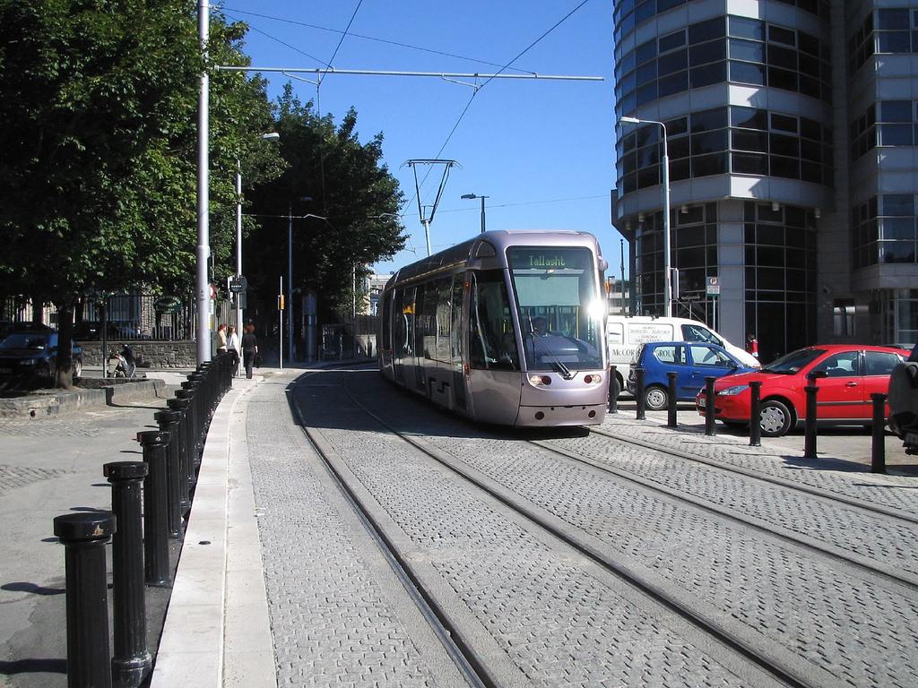 Tram at Smithfield, Dublin by infomatique, on Flickr