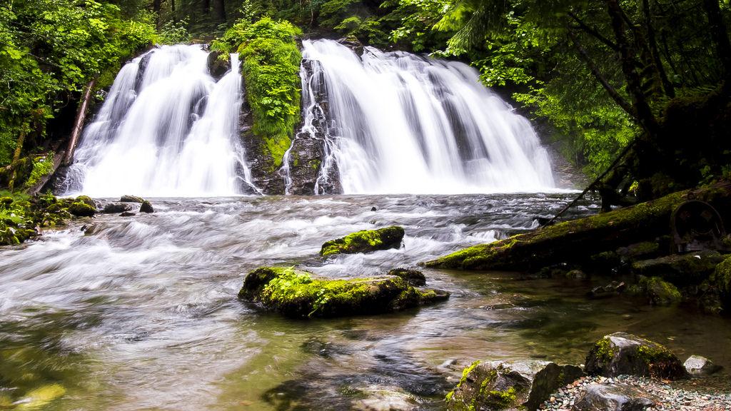 Juneau Alaska Waterfall by Ian D. Keating, on Flickr