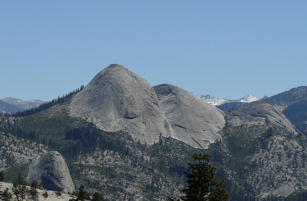 Exfoliated Yosemite Monoliths - North Do by docentjoyce, on Flickr