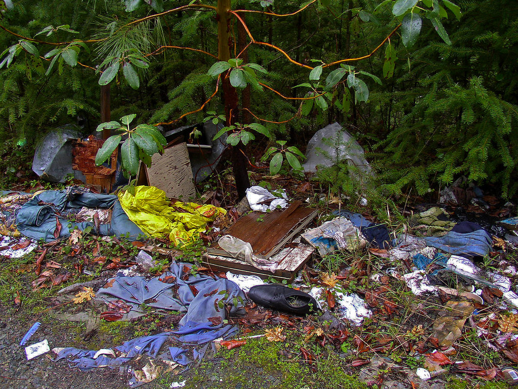 Illegal dumping on public lands in the M by BLMOregon, on Flickr
