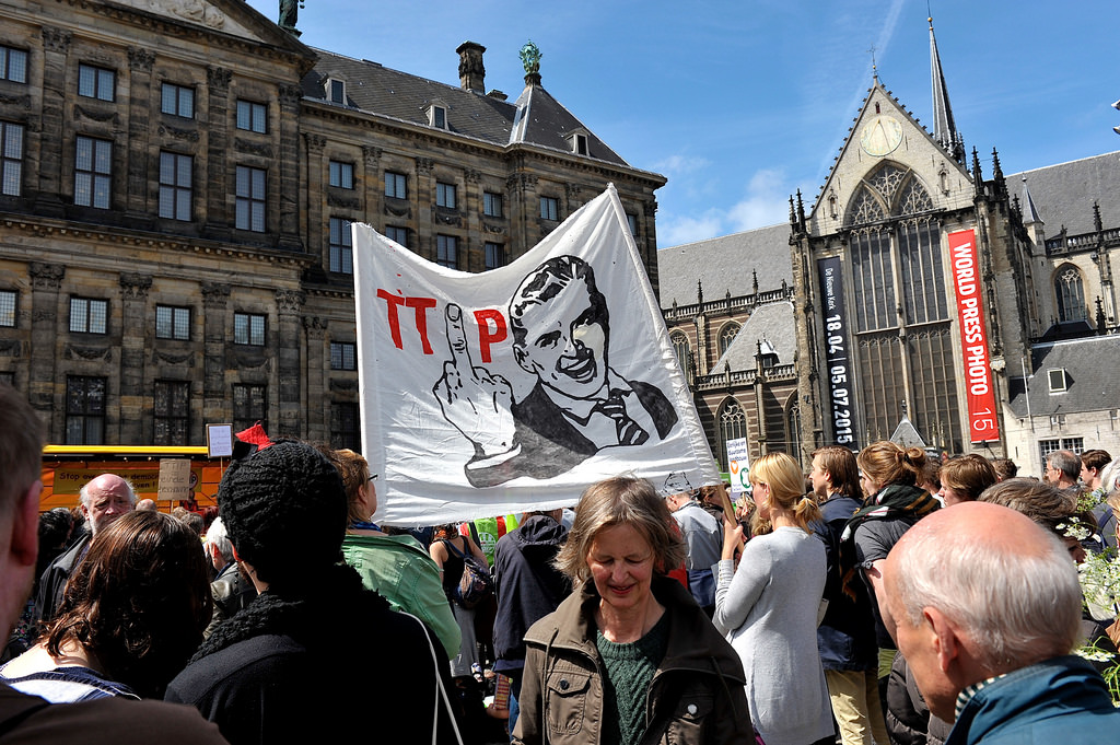 'F*ck TTiP' Amsterdam by FaceMePLS, on Flickr