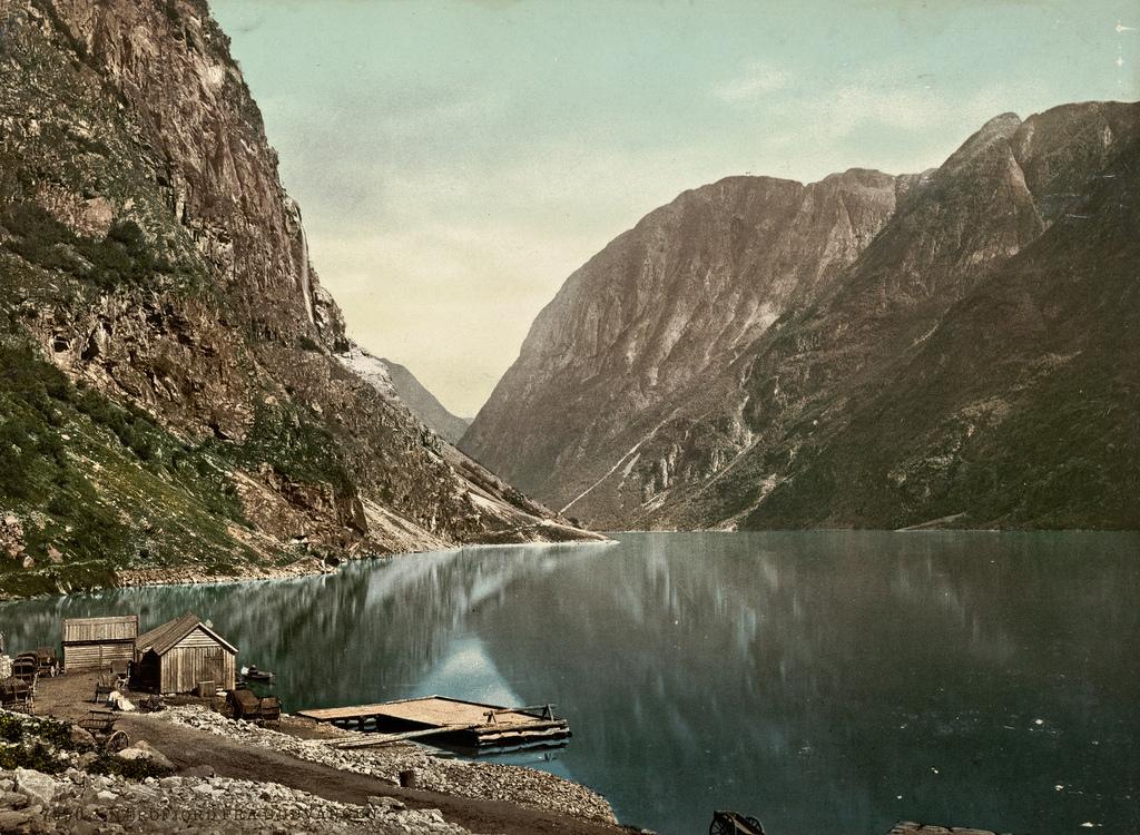 7050. Nærofjord fra Gudvangen by National Library of Norway, on Flickr