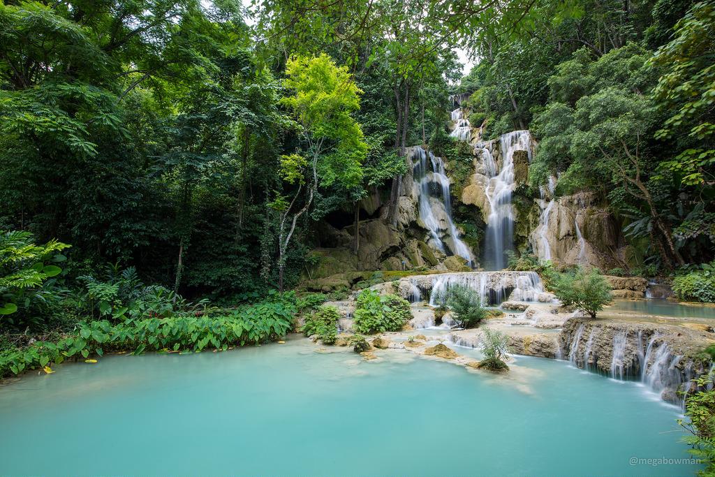 Kuang Si Falls - Laos by Christian Bowman, on Flickr