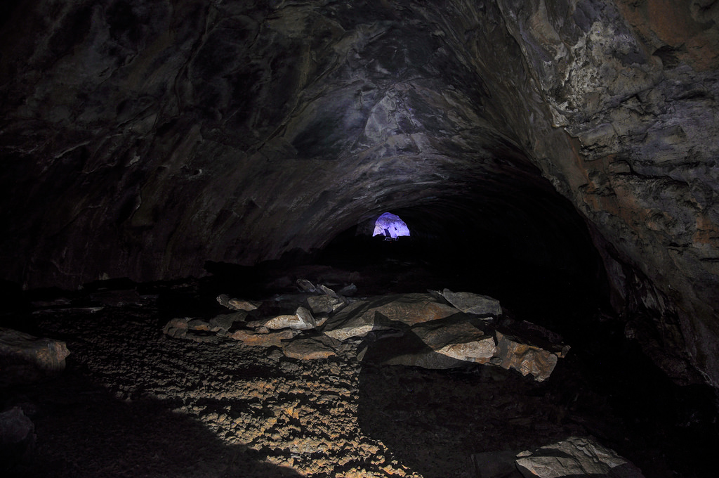 Lava River Cave by Coconino National Forest, on Flickr