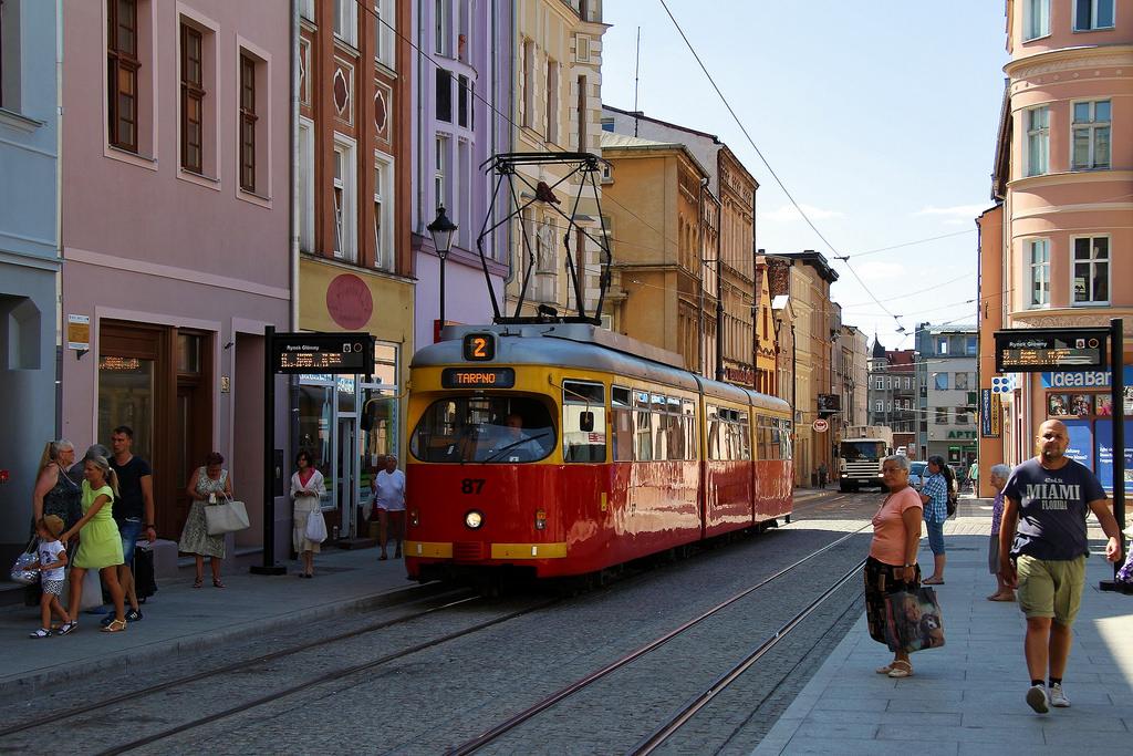 Tram in Grudziądz by Krzysztof D., on Flickr