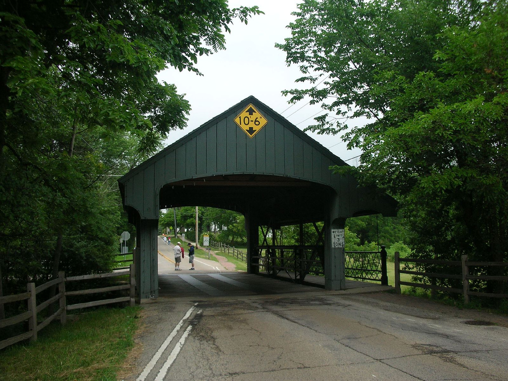 Long Grove Covered Bridge by puroticorico, on Flickr