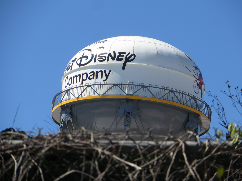 Water Tower, Walt Disney Studios, Burban by Ken Lund, on Flickr