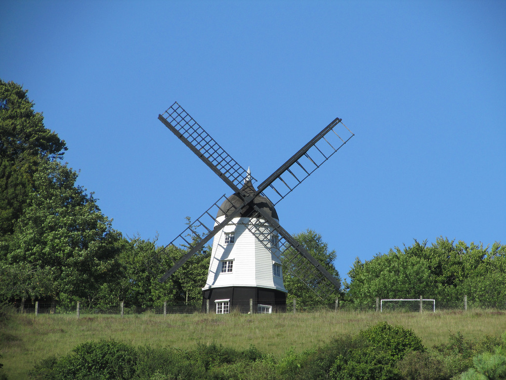 The Windmill from Chitty Chitty Bang Ban by Glen Bowman, on Flickr