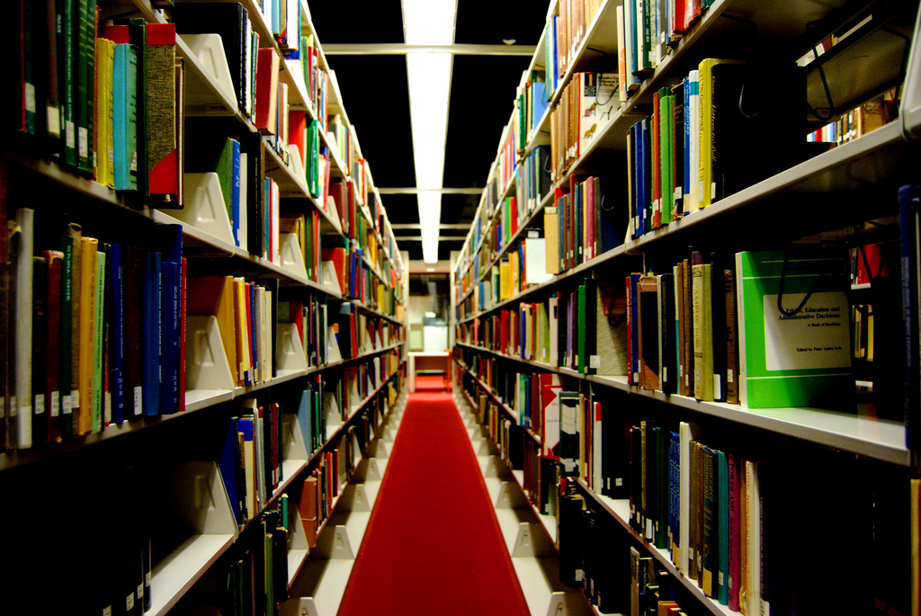 Libraries are Creepy by Paul Lowry, on Flickr